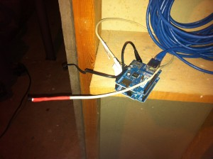 Arduino in the basement