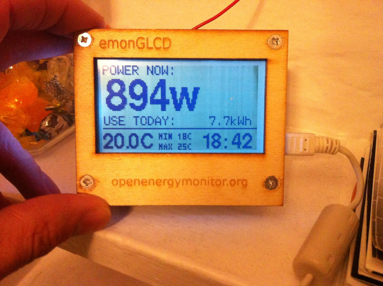 Energy Monitoring   Marquis Taylor